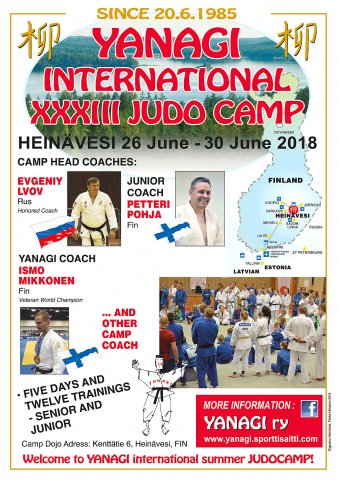 Yanagi International XXXlll Judocamp