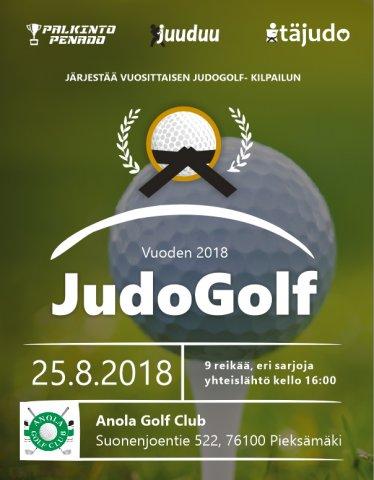 JudoGolf 2018 -kilpailu
