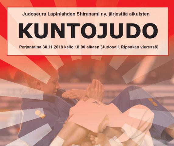 Judoseura Lapinlahden Shiranami r.y. järjestää aikuisten - Kuntojudo