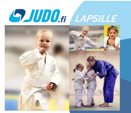 Judoa lapsille - peruskurssit alkavat taas syyskussa