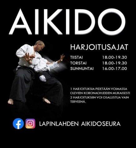 Shiranamin tatamilla Aikido -treenit